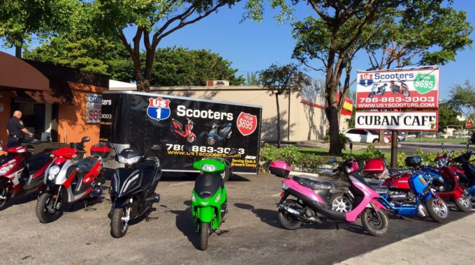 Our Scooter Store in Miami !