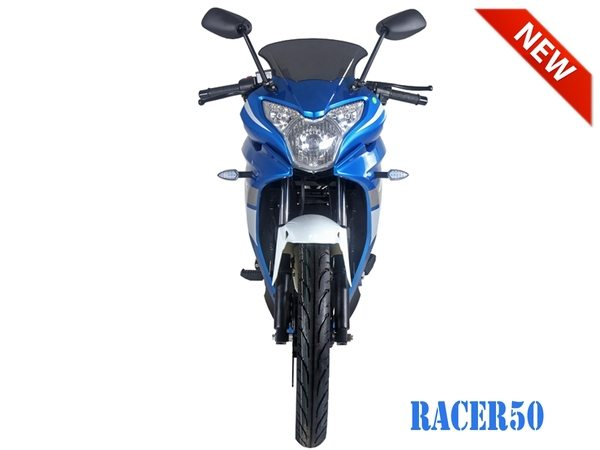 Blue Racer 50cc New 2017 Design