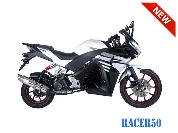 Black Racer 50cc New 2017 Design