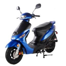 Scooter ATM 50 blue