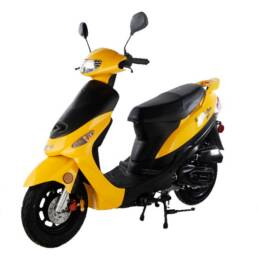 Scooter ATM 50 yellow