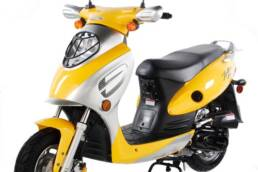Scooter cy50a yellow