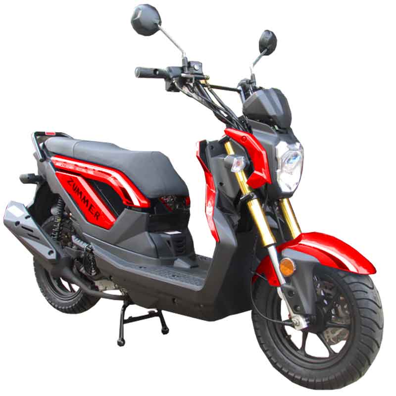 Scooter Zummer 50 red
