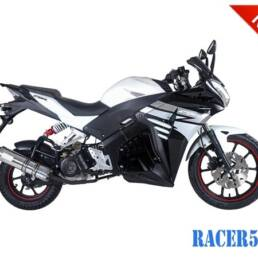 Black Racer 50cc New 2017 Design