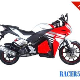 Red Racer 50cc New 2017 Design